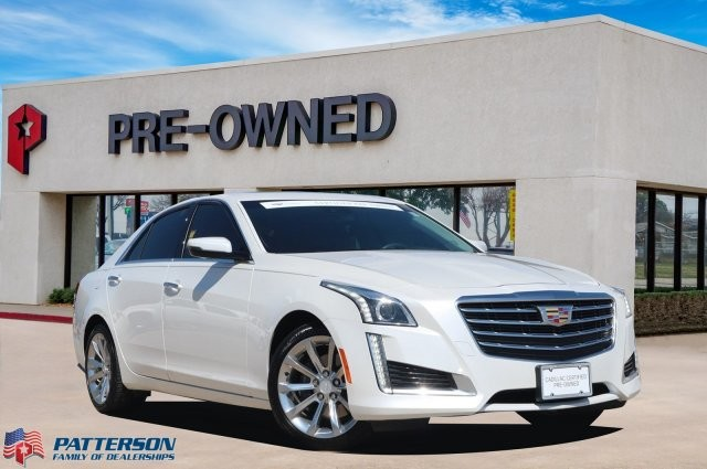 Certified Pre-Owned 2018 Cadillac CTS Sedan Luxury RWD **Certified Pre-Owned